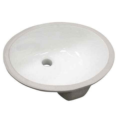 Home Depot Vessel Sink Oval by Decolav Classically Redefined Undermount Vitreous China