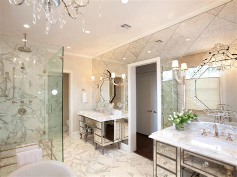 Mirrored Wall Bathroom by Modern Bathroom Design Ideas Pictures Tips From Hgtv