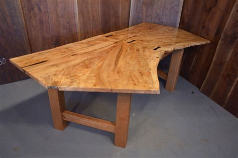 unique kitchen islands shapes maple dining tables handmade by dumond 39 s custom wood
