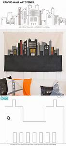 119 best images about canvas paint ideas templates on With kitchen cabinets lowes with wall art cityscape