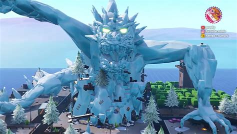 explore  giant ice dragon  fortnite creative code