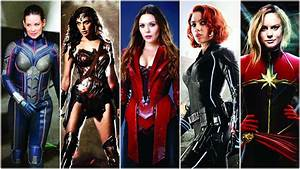 From, Wonder, Woman, To, The, Wasp, How, Female, Superheroes, Pack, A, Punch