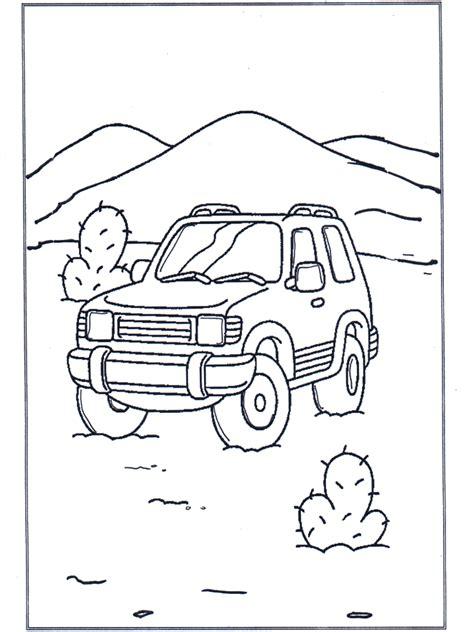 gelaendewagen malvorlagen autos