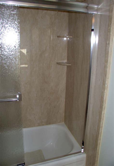 thin stone panels shower surrounds interior walls