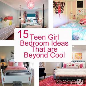 teen girl bedroom ideas 15 cool diy room ideas for With cool bedroom for teenage girls