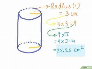 Radius Eines Zylinders Berechnen : die oberfl che eines zylinders berechnen wikihow ~ Themetempest.com Abrechnung