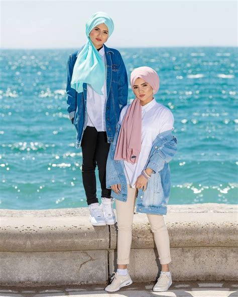 outfit beach hijab