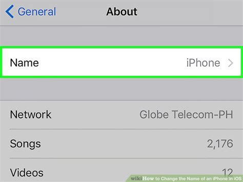 how to change the name on your iphone how to change the name of an iphone in ios 7 steps