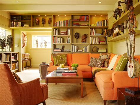 Innovative Low Bookcase Convention San Francisco Eclectic