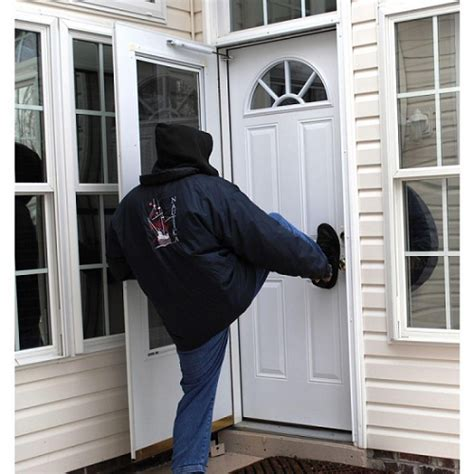 how to secure a door from being kicked in how to secure the front door in your rental house