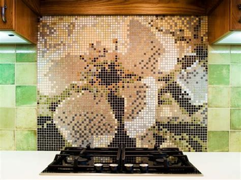 mosaic tiles kitchen backsplash mosaic tile backsplash hgtv 7872