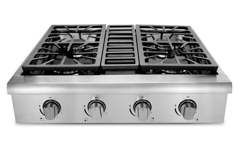 gas cooktop reviews thorkitchen professional 30 quot gas cooktop with 4 burners
