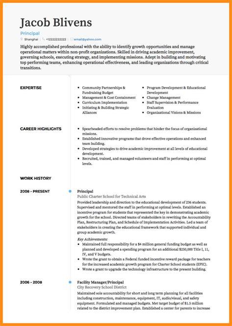 11 curriculum vitae template odr2017