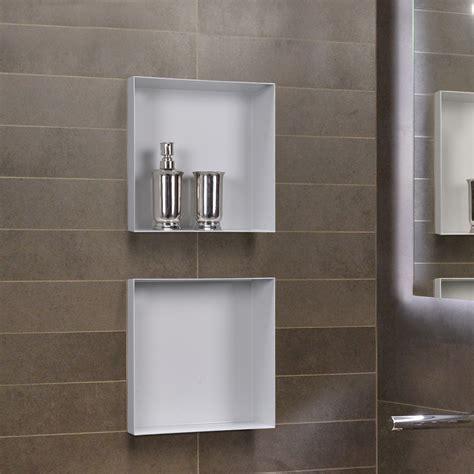 niche de salle de bain niche murale dans salle de bain et mosaique chaios
