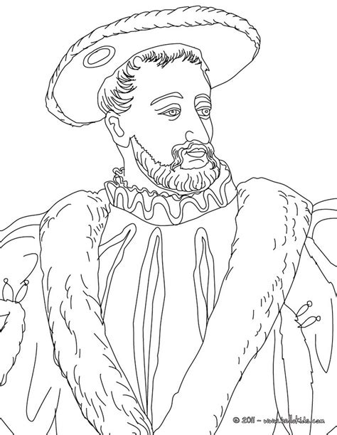 francis  king  france coloring pages hellokidscom
