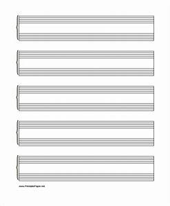 25 free lined paper templates free premium templates With music manuscript template