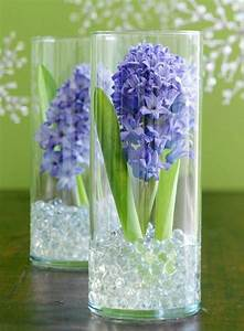 Blumenzwiebeln Im Glas : blumenzwiebeln im glas mit dekosteinen hyazinthe bastelideen pinterest hyazinthe ~ Markanthonyermac.com Haus und Dekorationen