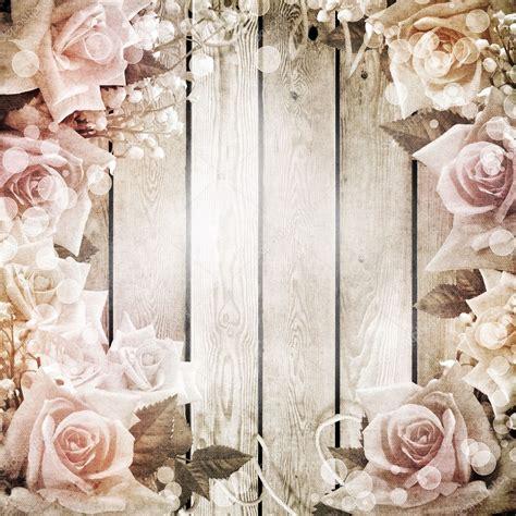 matrimonio vintage sfondo romantico  rose foto stock