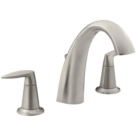 kohler alteo deck mount 2 handle bathroom faucet trim kit