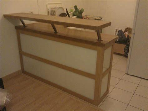 meuble de bar cuisine meuble séparation cuisine ouverte par lemony sur l 39 air du bois