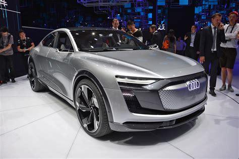 2019 audi electric car e sportback concept previews audi electric car coming