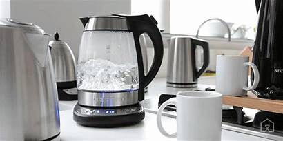 Electric Kettle Boiling Animated Tea Gifs Kettles