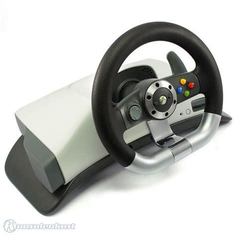 xbox 360 lenkrad xbox 360 lenkrad racing steering wheel wireless feedback mit pedale konsolenkost