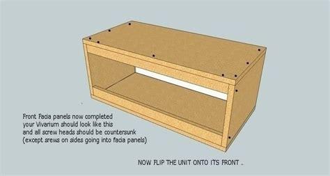 build   wooden vivarium reptile forums stuff  buy pinterest build