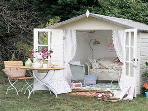 Shabby Chic Garden Shed Ideas