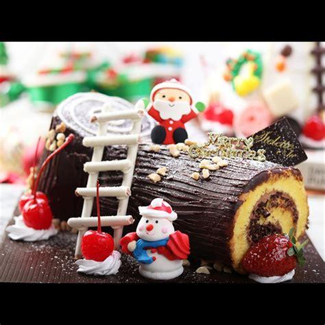 jual  enak kue natal roll cake coklat