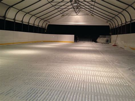 ice rink piping easy  install ice rink piping