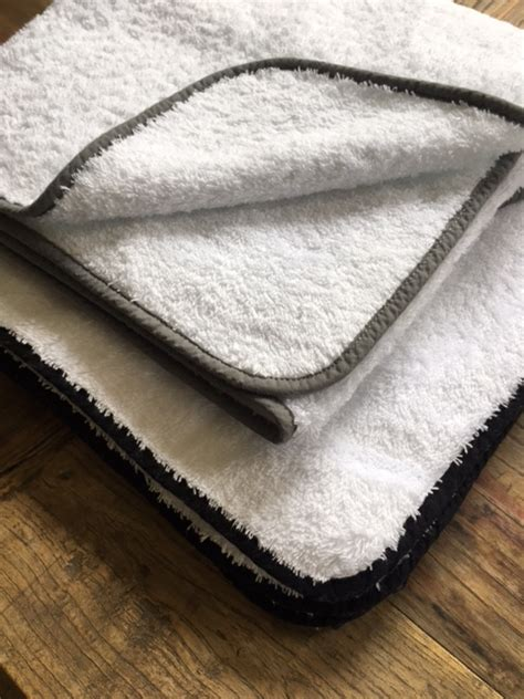 hotel luxury collection ales bath towel  black