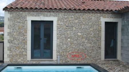 incroyable a coller sur mur exterieur 3 pierres et decor de parement mural
