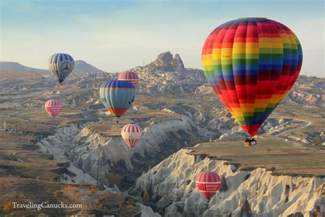 Photo Of The Week Hot Air Balloons In Cappadocia Turkey