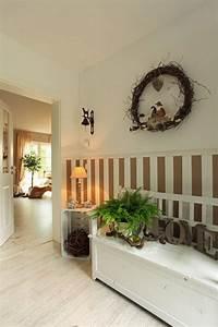 Tapete Für Flur : fertighaus wohnidee diele flur und galerie kompaktes landhaus treppe haus flure und haus ~ A.2002-acura-tl-radio.info Haus und Dekorationen