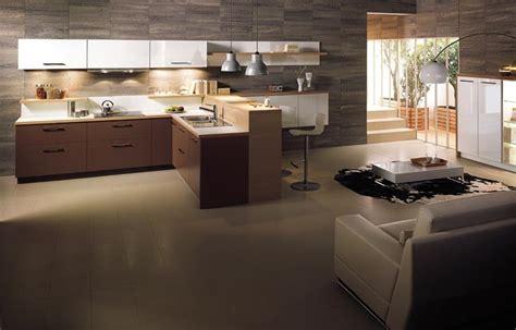 deco cuisine salon amenagement salon idees accueil design et mobilier