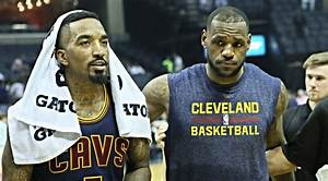 J.R. Smith Discusses LeBron James' Hairline Issues
