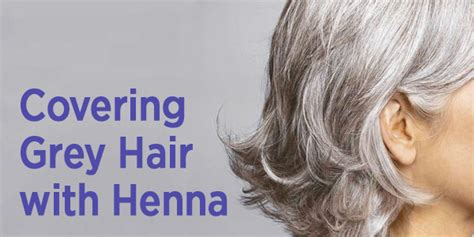 best home hair color for gray coverage covering grey hair with henna morrocco method