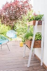 gartendeko selber basteln mit metall coole bastelideen fur With französischer balkon mit blumen für den garten online bestellen