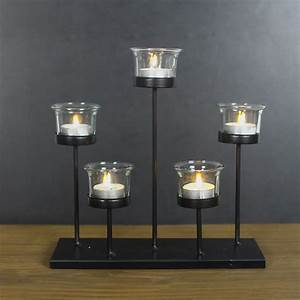 joveco metal stand with glass candle holder holds 3 With kitchen cabinets lowes with colored glass candle holder
