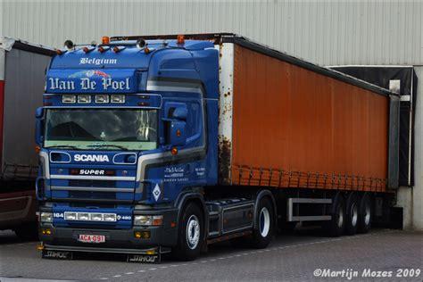 Van De Poel Scania 164  480 Vrachtwagens Photo Album By
