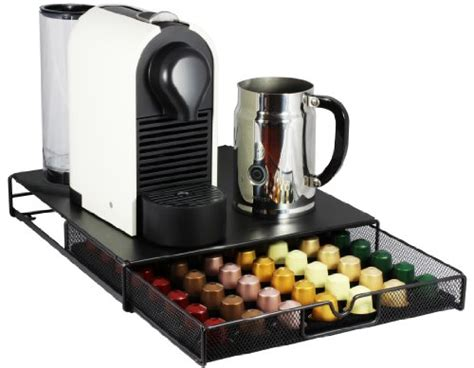 Decobros Coffee Pod Packs Storage Mesh Drawer Holder Organizer Nespresso Capsule