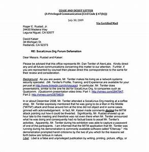 cease and desist template beepmunk With cease and desist letter australia template