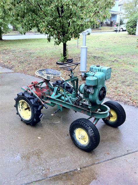 homemade tractor our garden tractors rare garden tractors