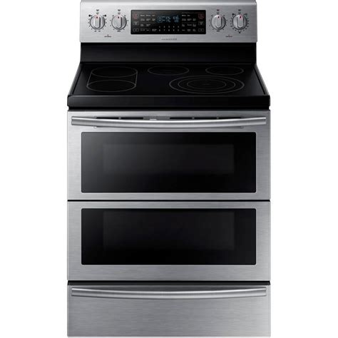 samsung    cu ft flex duo double oven electric
