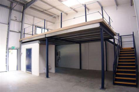 building  mezzanine  increase storage  office space