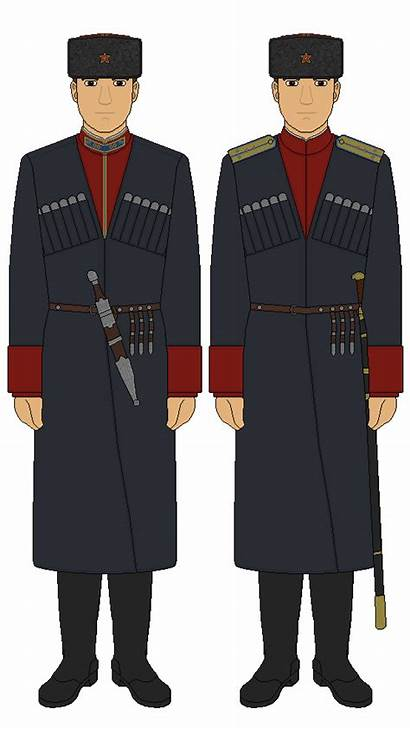 Army Cossacks Kuban Cossack Uniform Deviantart Military
