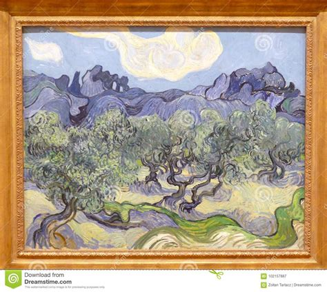 Photo Of The Famous Original Painting By Vincent Van Gogh