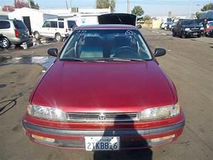 1990 Honda Accord Lx Coupe 2-door 2 2l No Reserve