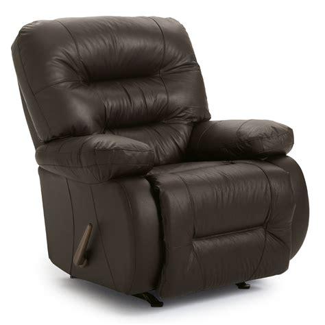 best home furnishings maddox genuine leather rocker